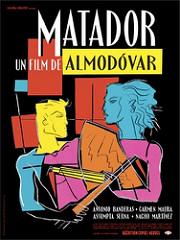 Cartel de Matadora, película de Almodóvar
