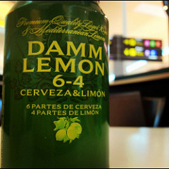 damm lemon - Radler in der Dose