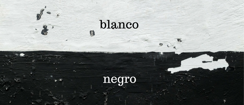 12 spanische Redewendungen in Schwarz-Weiß