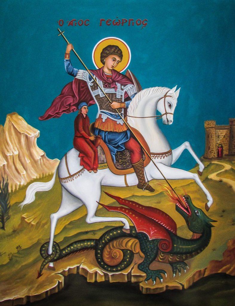 Sant Jordi - día de la rosa